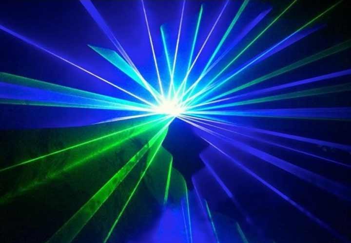 Laser Bleu Vert