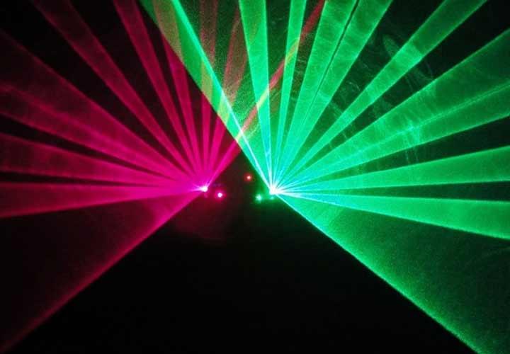 Laser Vert Pourpre